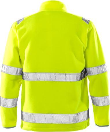 High vis fleece jacket class 3 4400 FE 2 Fristads  Large