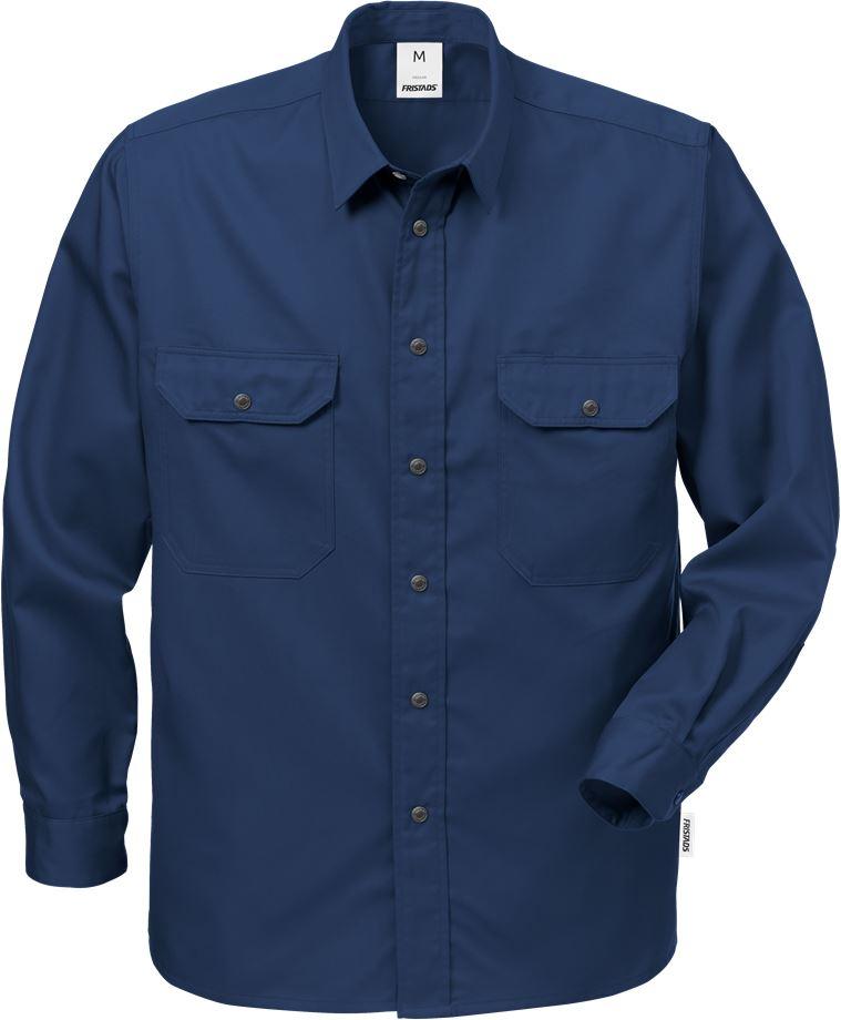 Fristads Men's Skjorta 720 B60, Mörk marinblå