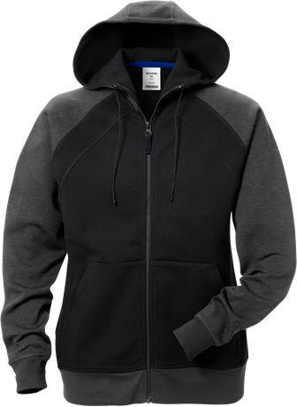 Acode hooded sweat jacket woman 1760 DF 1 Fristads