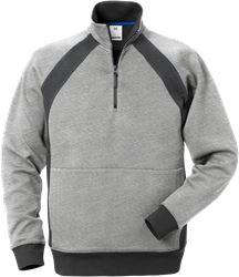 Acode sweatshirt med kort dragkedja 1755 DF Fristads Medium