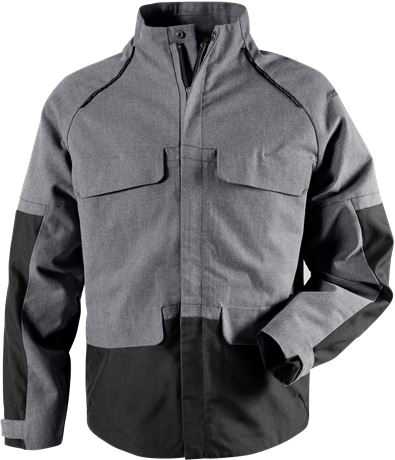 Green craftsman jacket 4538 GRN 1 Fristads