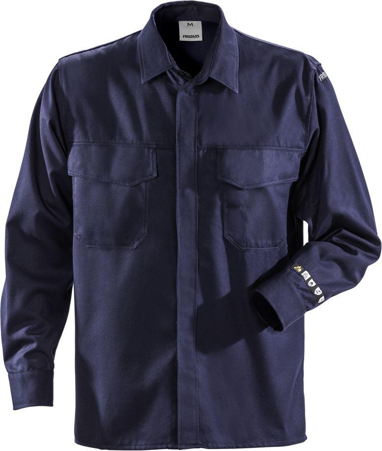 Fristads Men's Flamestat Skjorta 7200 ATS, Mörk marinblå