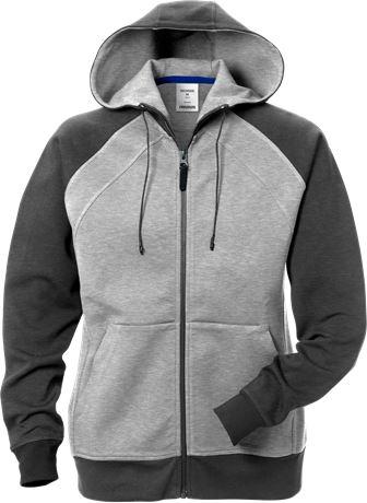 Acode hooded sweat jacket woman 1760 DF 1 Fristads  Large