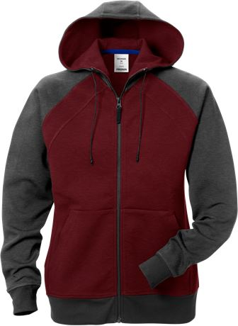 Acode hooded sweat jacket woman 1760 DF 1 Fristads