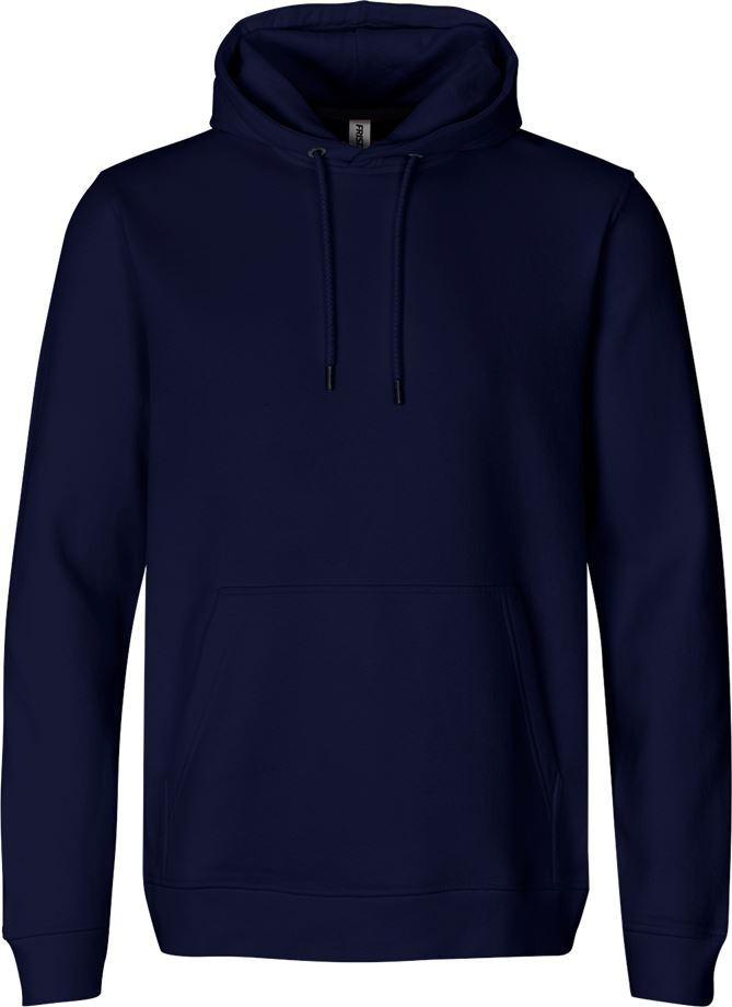Fristads Men's Acode sweatshirt med huva 7736 SWB, Mörk marin