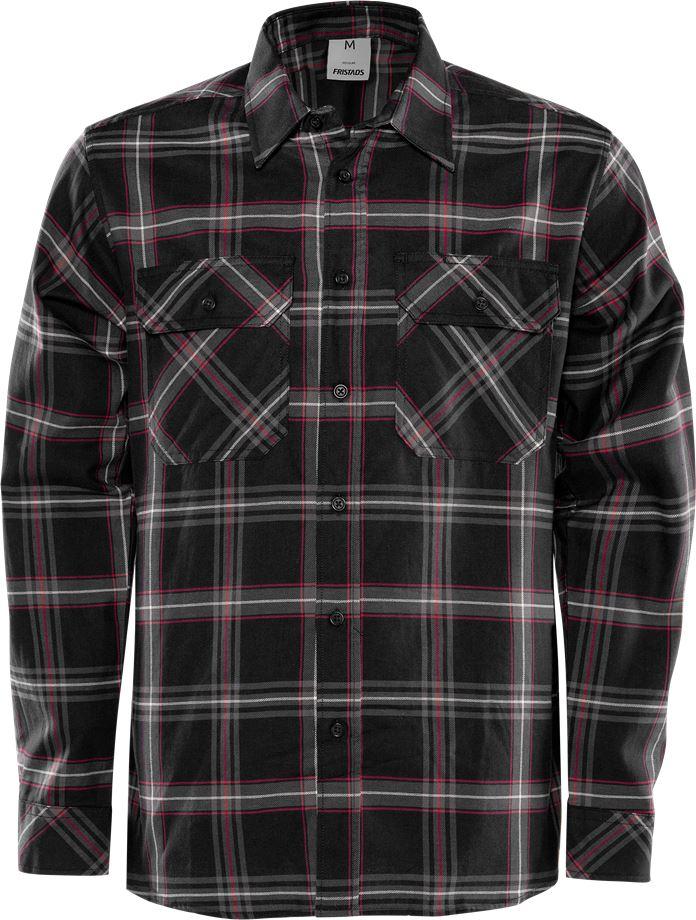 Fristads Men's Flanellskjorta 7421 MSF, Svart