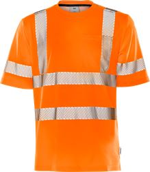 Varsel T-shirt 7407 THV, klass 3 Fristads Medium
