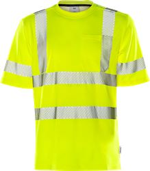 High vis t-shirt class 3 7407 THV Fristads Medium