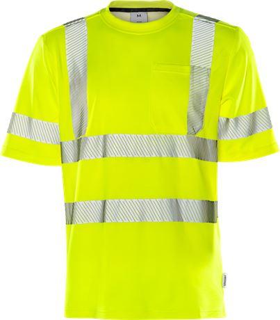 High vis t-shirt class 3 7407 THV 1 Fristads