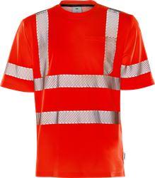 Høy synlighet t-skjorte cl 3 7407 THV Fristads Medium