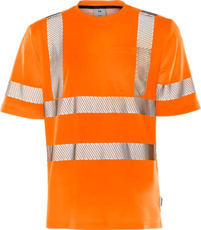 Varsel T-shirt 7407 THV, klass 3 1 Fristads  Large