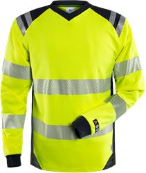 Flamestat high vis long sleeve T-shirt class 3 7359 TFL Fristads Medium