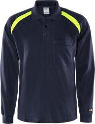 Flamestat long sleeve polo shirt 784 PFLA Fristads Medium