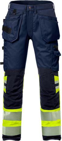 High vis craftsman stretch trousers woman class 1 2709 PLU 1 Fristads