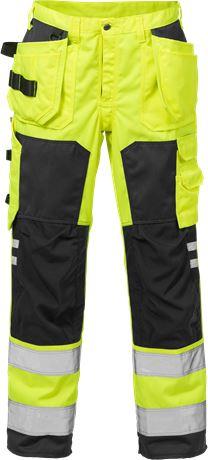 Hi Vis håndværker bukser kl.2 2025 1 Fristads