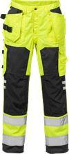 Hi Vis håndværker bukser kl.2 2025 1 Fristads Small