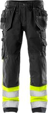 High vis craftsman trousers class 1 2093 NYC 1 Fristads Small