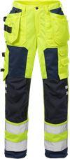High Vis Handwerkerhose Damen Kl. 2 2125 PLU 1 Fristads Small