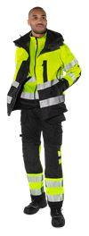 High vis Airtech® shell jacket class 3 4515 GTT 3 Fristads Small