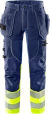 High Vis Handwerker Stretch-Hose Kl.1 2608 FASG 1 Fristads Small