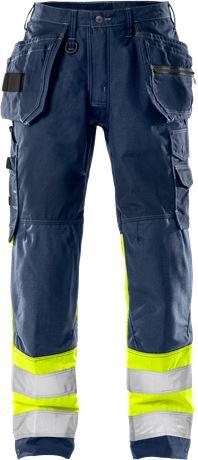 Pantalons d'artisan haute visibilité pour femme classe 1 2172 NYC 1 Fristads
