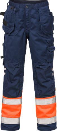 Hi Vis håndværker bukser kl.1 2029 1 Fristads