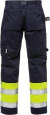 Flame pantalon d'artisan haute visibilité classe 1 2586 FLAM 2 Fristads Small