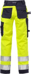 Flame high vis craftsman trousers woman class 2 2589 FLAM 2 Fristads Small