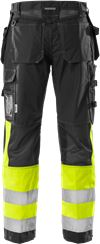 High vis craftsman trousers class 1 2093 NYC 2 Fristads Small