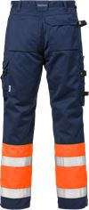 Hi Vis håndværker bukser kl.1 2029 2 Fristads Small