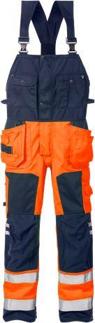 Hi Vis håndværker overalls kl.2 1014 1 Fristads