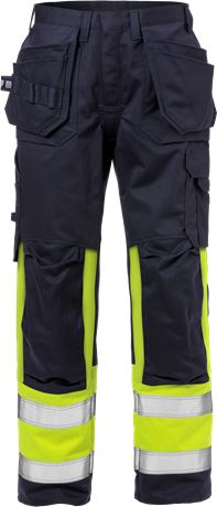 Flame pantalon d'artisan haute visibilité classe 1 2586 FLAM 1 Fristads