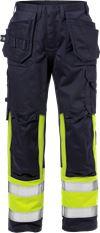 Flame pantalon d'artisan haute visibilité classe 1 2586 FLAM 1 Fristads Small