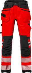 High Vis Handwerker Stretch-Hose Kl. 2 2707 PLU Fristads Medium