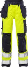Flame high vis craftsman trousers woman class 2 2589 FLAM 1 Fristads Small