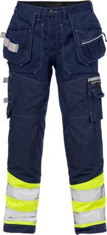 Hi Vis Gen Y håndværker bukser kl.1 2127 1 Fristads