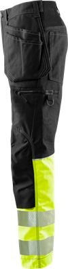 Håndverker stretchbukser høy synlighet klasse 1 FASG 3 Fristads Small