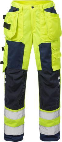 High Vis Handwerkerhose Damen Kl. 2 2125 PLU 1 Fristads