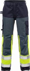 Flame Hi Vis bukser dame kl.1, 2591 FLAM 1 Fristads Small