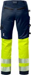 High vis craftsman stretch trousers woman class 1 2709 PLU 2 Fristads Small