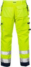 Hi Vis Håndværker softshell bukser 2083 2 Fristads Small
