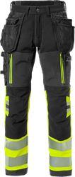 Pantaloni Craftsman stretch high vis. CL. 1 2568 STP Fristads Medium