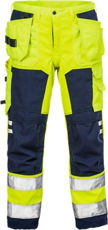 Hi Vis Håndværker softshell bukser 2083 1 Fristads