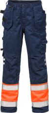 Hi Vis håndværker bukser kl.1 2029 1 Fristads Small