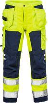 Hi Vis Håndværker softshell bukser 2083 1 Fristads Small