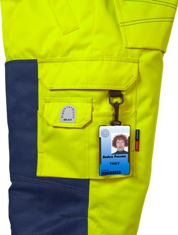 High vis winter trousers class 2 2034 PP 6 Fristads  Large