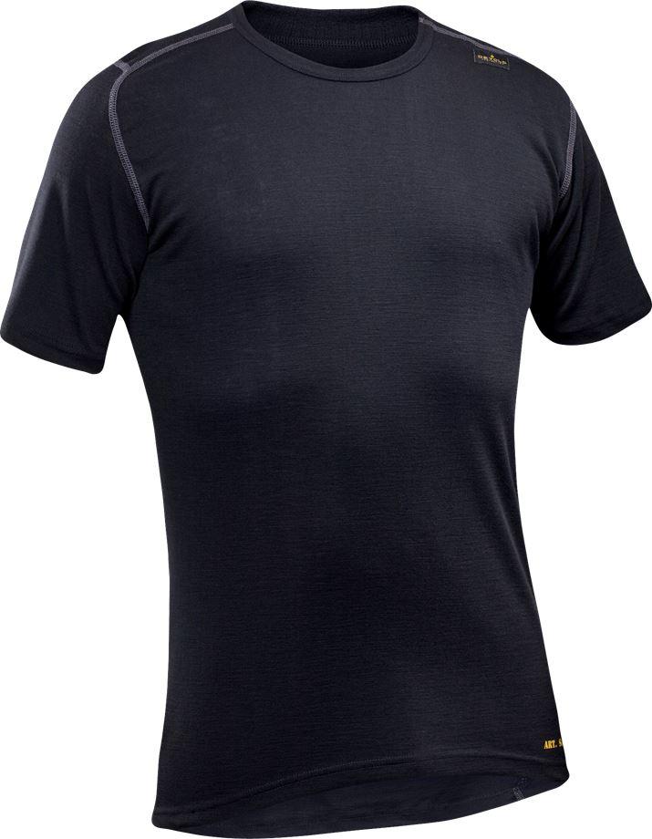 Fristads Men's Flamestat Devold T-shirt 7431 UD, Svart