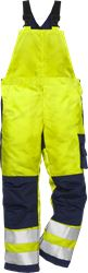 Flame high vis bib´n´brace cl 2 1022 FBPA Fristads Kansas Medium