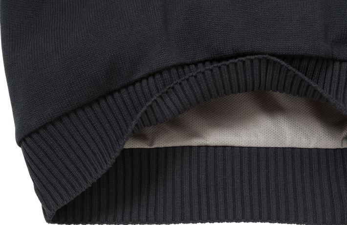 Stickad tröja 7100 BLK 6 Fristads Kansas  Large