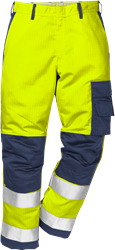 Flame high vis trousers cl 2 2042 FBPA Fristads Kansas Medium